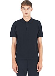 Raf Simons Short Sleeved Polo Shirt Black