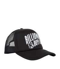 Billionaire Boys Club Logo Embroidered Trucker Cap Unisex Black