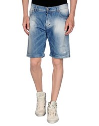 Exte Denim Denim Bermudas Men