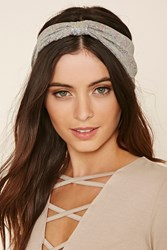 Forever 21 Metallic Bow Front Headwrap