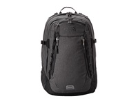 The North Face Router Zinc Grey Heather Asphalt Grey Backpack Bags Gray