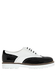 Hogan Two Tone Leather Oxford Shoes