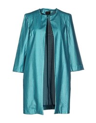 Blanca Luz Coats And Jackets Full Length Jackets Women Turquoise