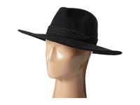 San Diego Hat Company Wfh7966 Rancher With Triple Braid Suede Band Black Caps