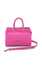 Marc By Marc Jacobs Too Hot To Handle Satchel Fuschia
