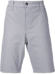 Joe's Jeans Knee Length Chino Shorts Grey