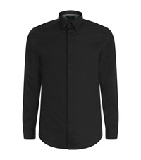 Diesel Classic Solid Shirt Male Black