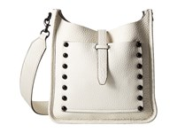 Rebecca Minkoff Small Unlined Feedbag Antique White Handbags