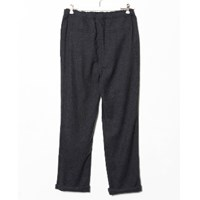 Our Legacy Grey Fleece Wool Relaxed Trouser