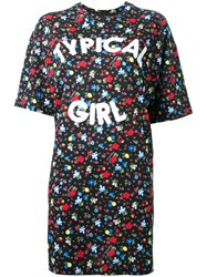 Love Moschino 'Typical Girl' T Shirt Dress Multicolour