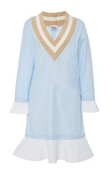 Band Of Outsiders Kentucky Wimbledon Dress Blue