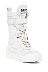 Marc By Marc Jacobs Platform Sneaker Boot White