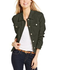 Charter Club Denim Jacket Only At Macy's Autumn Sage