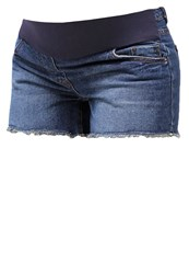 New Look Brownie Denim Shorts Blue