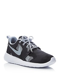 Nike Roshe One Jacquard Camouflage Lace Up Sneakers Dark Grey Camo