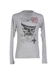 Zu Elements Zu Elements Knitwear Jumpers Men Grey