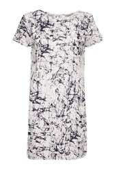 Great Plains Crackle And Pop Longline T Shirt White