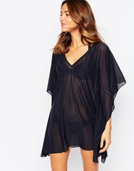 Moontide Beach Caftan Black