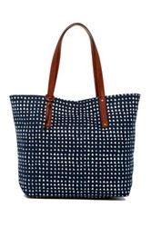 Lucky Brand Indie Canvas Zip Tote Multi
