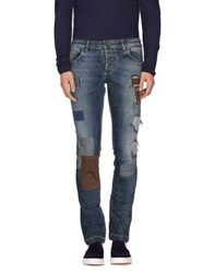 Entre Amis Denim Denim Trousers Men