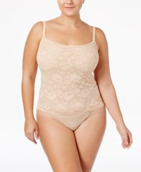 Cosabella Never Say Never Plus Size Lace Camisole Never1811p Blush