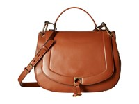 Ivanka Trump Claudia Satchel Saddle Satchel Handbags Brown