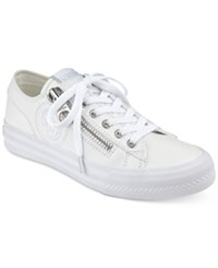 Guess Women's Gemica Lace Up Sneakers Women's Shoes White