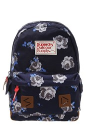 Superdry Summer Blush Montana Rucksack Navy Blue