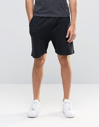 Another Influence Ribbed Sweat Shorts Black