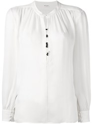 Masscob Relaxed Fit Blouse White