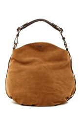 Ugg Heritage Suede And Leather Hobo Brown