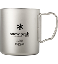 Snow Peak Titanium 450Ml Double Wall Cup Hypebeast Store. Shop Online For Men's Fashion Streetwear Sneakers Accessories