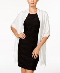 Inc International Concepts Satin Wrap Only At Macy's Ivory