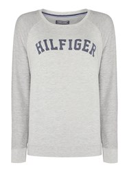 Tommy Hilfiger Iconic Track Loungewear Sweat Top Grey