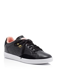 Puma Match Lo Basic Sports Lace Up Sneakers Black