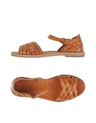 N.D.C. Made By Hand Footwear Sandals Women Red