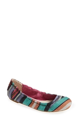 Toms Stripe Ballet Flat Women Multi Stripes
