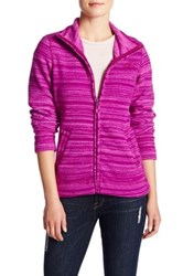 The North Face Crescent Sunset Full Zip Jacket Purple