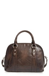 Frye 'Melissa' Domed Leather Satchel Grey Slate