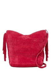 Shiraleah Emma Large Suede Crossbody Bag Multi