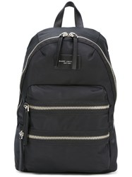 Marc Jacobs Zipped Backpack Black