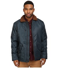 Brixton Colstrip Jacket Captain Blue Men's Coat