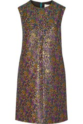 3.1 Phillip Lim Metallic Jacquard Mini Dress