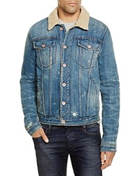 Joe's Jeans Shearling Denim Jacket