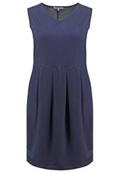 Anna Field Curvy Summer Dress Blue Denim