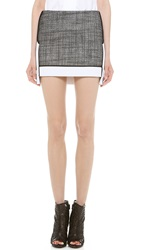 Viktor And Rolf Miniskirt Black White
