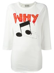 Faith Connexion 'Why' T Shirt White