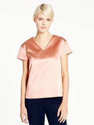 Kate Spade Madison Ave. Collection Gigi Top Light Chocolate Milk