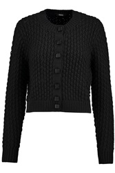 Raoul Chunky Knit Cardigan Black