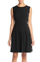 Women's Marc New York Stretch Crepe Fit And Flare Dress